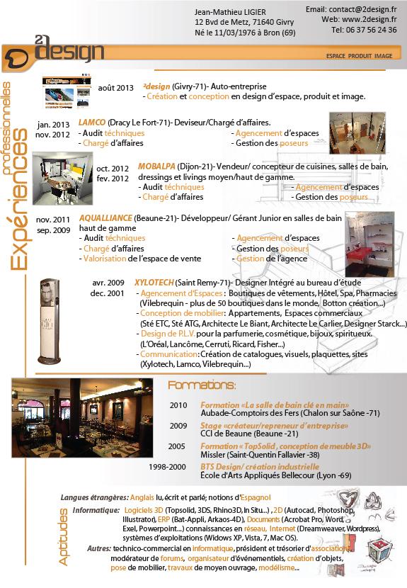 parcours professionnel  u2013 2 design