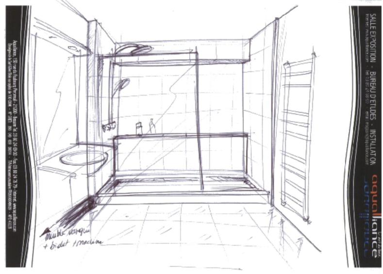 Salle de bain-Avant projet