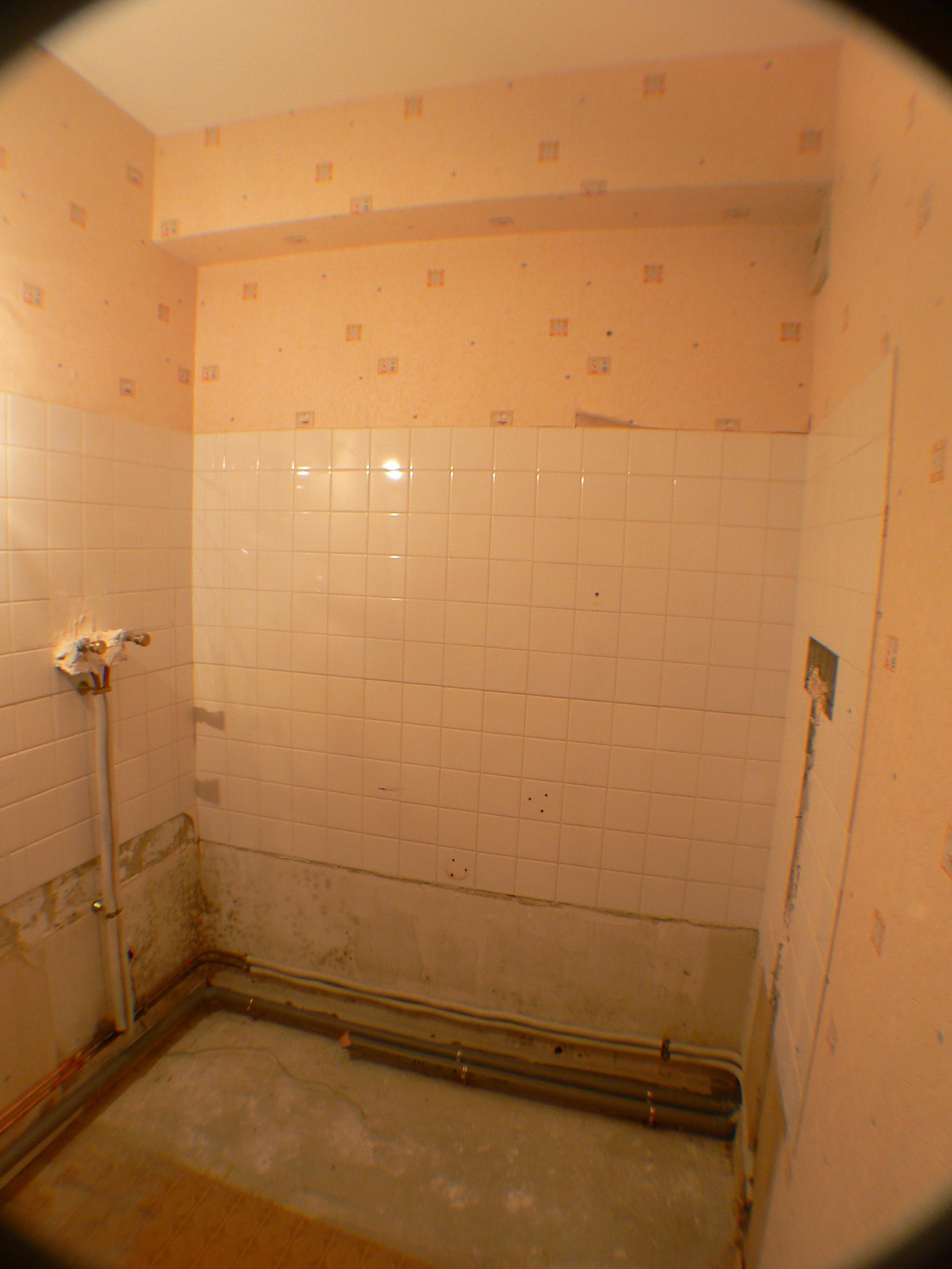 Salle de bain-Démolition