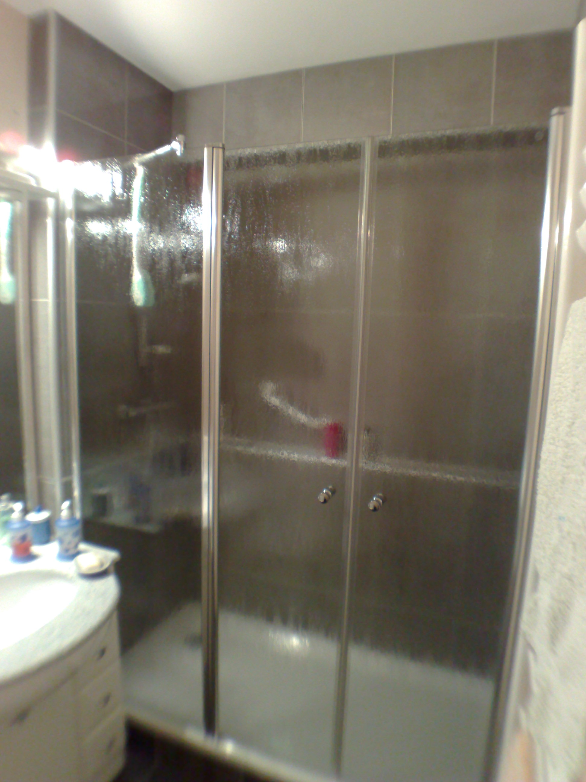 Salle de bain-Paroi fermée
